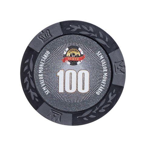 ficha de poker new 100