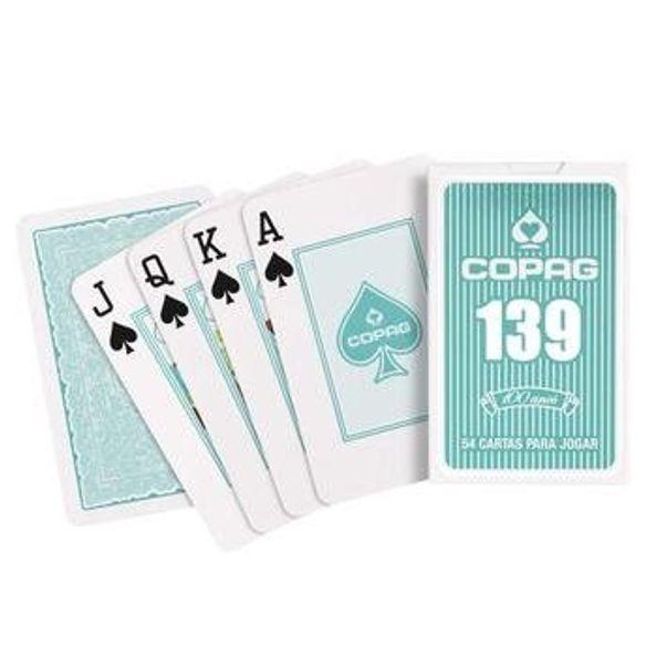 Baralho Copag 139 Collors Ciano Cidade do Poker - Cidade do Poker 59ea921642769