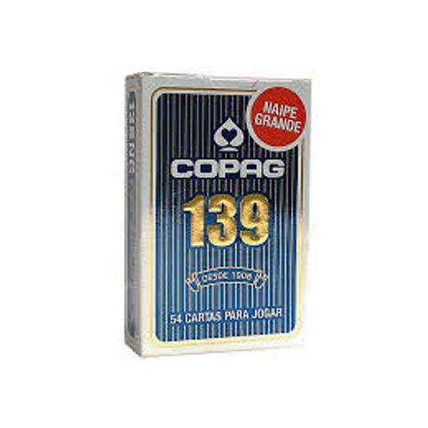 Baralho Copag 139 Naipe Grande Azul 8c2ef35de7c7e