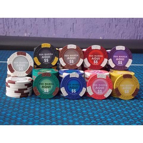 Fichas de Poker Personalizadas 14gms Modelo Las Vegas Nevada 185ee9b2b0d90
